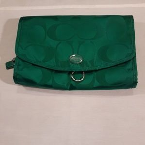 Coach travel/cosmetic bag